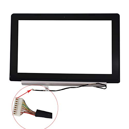 findmall New Digitizer Touch Screen Glass & Bezel for 11.6'' Asus VivoBook X202E Q200E by findmall (Image #1)