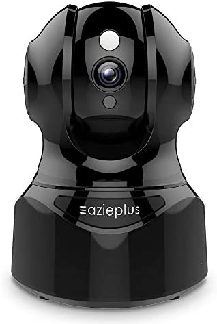 Security Camera Indoor, Pet Camera,WiFi Camera for Pet/Baby/Elder, with 2 Way Audio, Pan-Tilt-Zoom ,IR Night Vision & Motion Detection Alerts, with TF Card Slot and Cloud,Works with Alexa