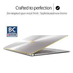 "ASUS ZenBook 3 UX390UA 12.5"" Ultraportable Laptop Intel Core i5-7200U KabyLake 8GB RAM 256GB SSD with Fingerprint Sensor and Harman Karson Audio, Silver Gray"