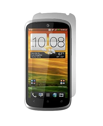 Gadget Guard HTCONEVXSCRN Screen Protector for HTC ONE VX - 1 Pack - Retail Packaging - Clear (Screen Protector Htc One Vx)