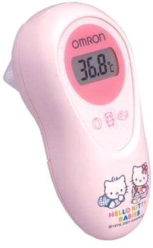 (Ear Type Electronic Thermometer/hello Kitty)