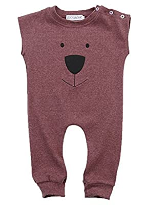 Ma&Baby Infant Baby Girl Boys Bear Jumpsuit Animal Cotton Romper Toddler Clothes