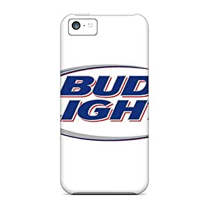 Scratch Resistant Cell-phone Hard Covers For Iphone 5c With Provide Private Custom Stylish Bud Light Image AlainTanielian