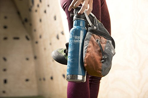 Klean Kanteen Classic Double Wall Vacuum Insulated Stainless Steel Water Bottle with Leak Proof Loop Cap