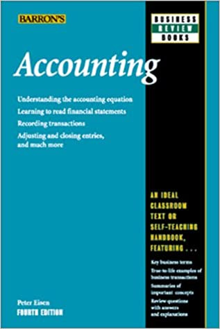 Accounting (Barron's Business Review): Peter Eisen: 9780764112737 ...