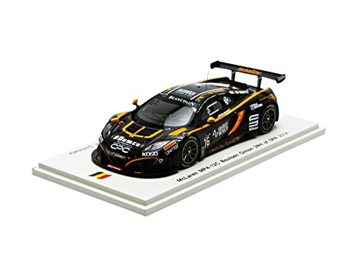 1/43 McLaren MP4-12C 24H SPA 2014 S. Sarkissian - A. Demirdjian - C. van der Drift - M. Schmetz #16 SB088の商品画像