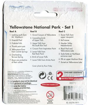 View Master: Yellowstone National Park - Set 1 by View Master (Image #1)