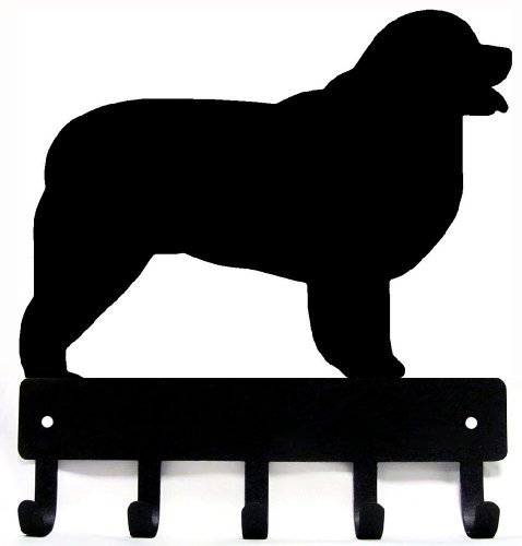 Newfoundland Key Rack & Dog Leash Hanger Large 9 inch