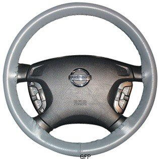 Wheelskins | AXX12-grey | 1995 - 1999 | Volkswagen Golf | Wheelskins Leather Steering Wheel Cover | Grey