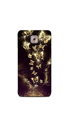 Print Station ONMAX 5467 Butterfly Design Printed Back Cover for Samsung Galaxy On Max