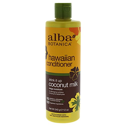 Alba Botanica Conditioner (Alba Botanica Natural Hawaiian Conditioner Coconut Milk, 12 oz)