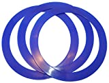 Juggling Rings Set of 3 Professional Style (Navy Blue)