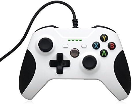 Controlador Xbox One, STOGA Mando Xbox One USB con Cable Controlador de Juego de Reemplazo Compatible con Xbox One y PC (Windows 7/8/10): Amazon.es: Electrónica