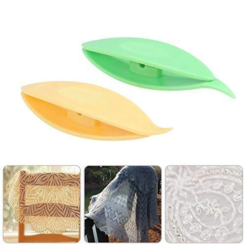 Whitelotous 5pcs Tatting Shuttle Weaving Tool DIY Handmade Craft Lace Making Art Accessories ()