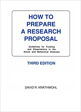 How To Prepare A Research Proposal Guidelines For Funding And