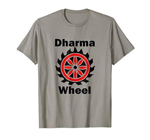 Dharma Wheel Buddhism Hinduism Religious Symbol T-Shirt
