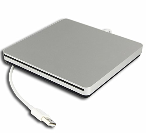 Genuine New External Portable 8X DVD-R RW DL USB SuperDrive for Apple Macbook Pro 2012 A1398 A1425 13 15 Inch MC975LL/A MC976LL/A MD212LL/A Multi 24X CD-R Burner Optical ()