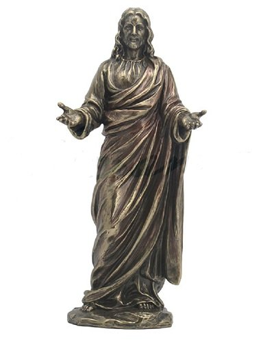 "9"" Jesus with Open Arms Statue Christ Figure Catholic Religious Decor Catholic"