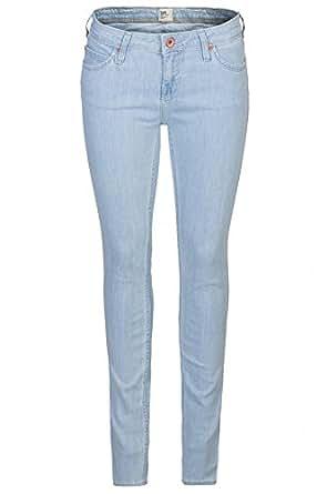 Lee Toxey Super Skinny Fit Jeans de mujeres Blau L527PLPW, Size:W25/L33