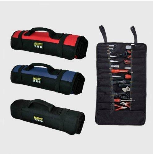 KIVEN Nylon Multi-Purpose red ,black,blue mechanics tool set