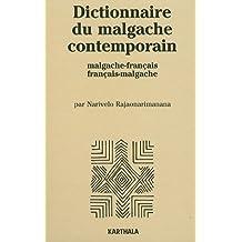 dictionnaire du malgache contemporain (malgache-francais et francais-malgache)