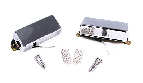 Snake Oil Chrome Mini Humbuckers - Neck and Bridge Matched Pair