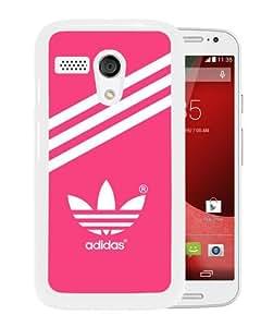Beautiful And Unique Designed Case For Motorola Moto G With Adidas 21 White Phone Case