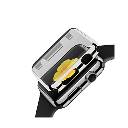 Price comparison product image GBSELL Ultra-Slim Electroplate PC Hard Case Cover For Apple Watch Series 1 42mm (Sliver)