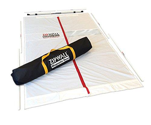 (ZipWall Magnetic Dust Barrier Door Kit,)