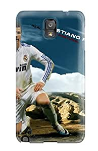 Galaxy Note 3 Case Cover Cristiano Ronaldo Workout Case - Eco-friendly Packaging