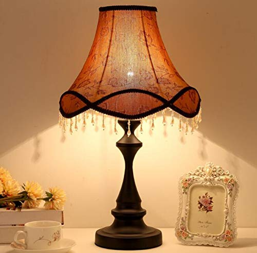Best to Buy Table Lamp,European Style Bedside Lamp Princess Pastoral Creative Wedding Luxury Restaurant Decoration Table Lamp (Luxurious Style) by Best to Buy (Image #1)