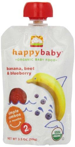 Happy Baby Simple Bananas Blueberry