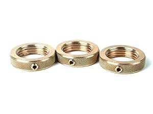 Amazon Com Rcbs Brass Lock Ring 7 8 14 Pack Of 3