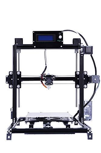 Impresora 3d Prusa i3Kit de bricolaje con Reprap 3d, tamaño grande tamaño de impresión y estructura de aluminio...