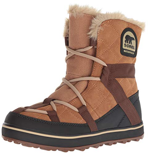 Sorel Glacy Da elk Explorer Marrone Stivali Donna Shortie Neve rr17wdnqv