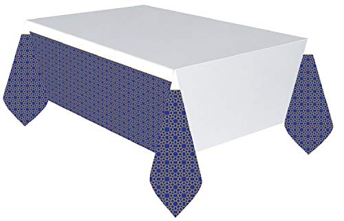 Eid al-Adha Moon & Stars Islamic Religious Celebration Decoration Tablecloth from Fancy Me
