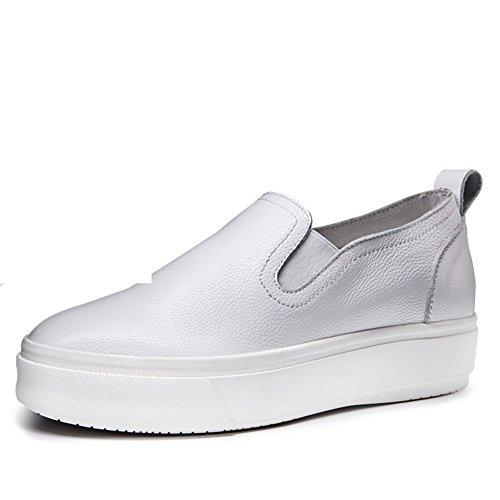 Le Fu/Zapatos de suela gruesos de la torta/zapatos casuales/Fija los pies zapatos B