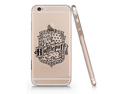 competitive price 4d4fb 58da5 Amazon.com: Hogwards Hufflepuff Logo Iphone 7 Case, Clear Iphone ...