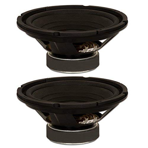 Goldwood Sound, Inc. Stage Subwoofer, OEM 8'' Woofers 130 Watts each 8ohm Replacement 2 Speaker Set (GW-8002/8-2)