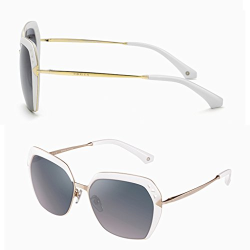 lunettes Élégantes lady soleil de polarisées Blanc wwApqC5