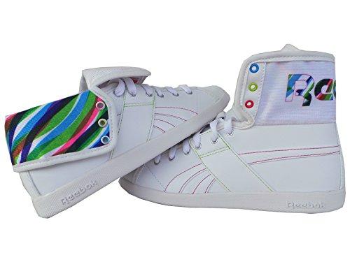 Reebok Top Down NC White Sonic Green Sneaker US8,5/EU39