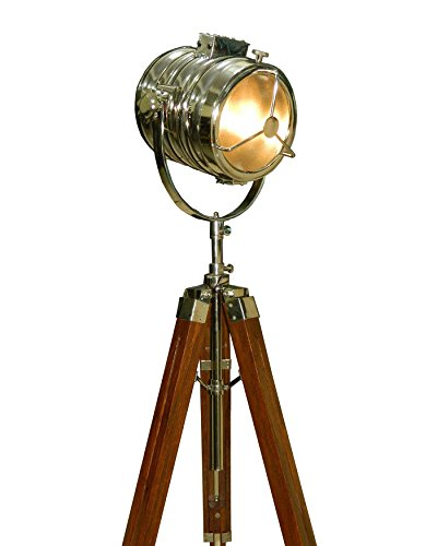 Price comparison product image AVION '40s HOLLYWOOD STUDIO TRIPOD LAMP - Hand Made Replica