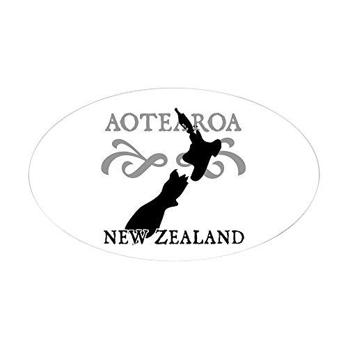 CafePress Aotearoa Zealand Sticker Bumper