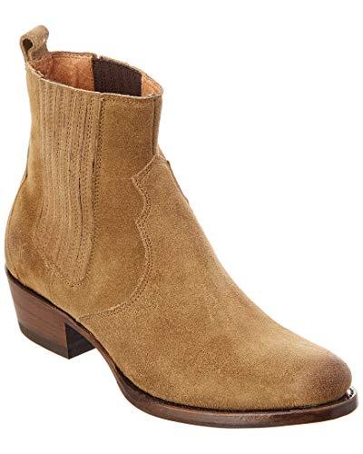 Brush Off Western Boot - FRYE Women's Diana Chelsea Boot, Tan Full Grain Brush Off, 8 M US