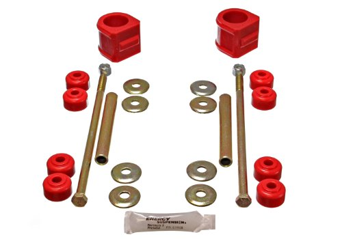 Energy Suspension 3.5136R Front Stabilizer Bar Bushing for GM 4WD by Energy Suspension