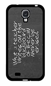 #1 Teacher TPU RUBBER SILICONE Phone Case Back Cover Samsung Galaxy S4 I9500 WANGJING JINDA