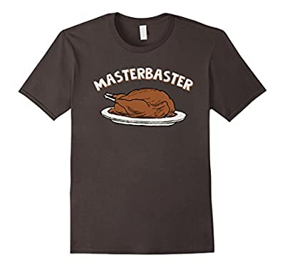 MasterBaster T-Shirt Funny Thanksgiving Turkey Tee