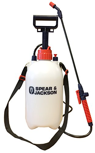 Spear & Jackson Pump Action Pressure Sprayer, 5 L