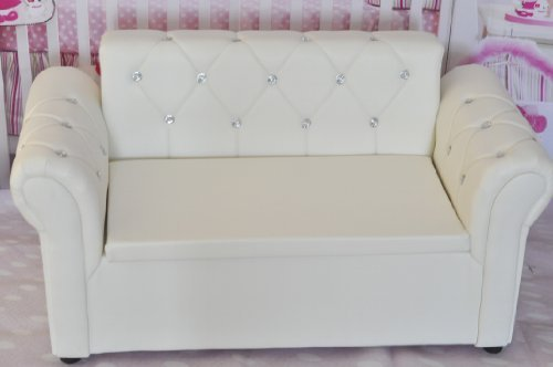 New photography photo props baby white sofa Couch settee SF05 by Backdropshop