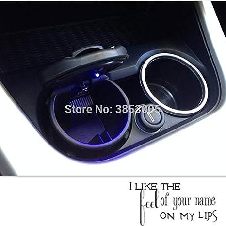 Coche estilo cenicero con accesorios led para Audi A4 B6 ...